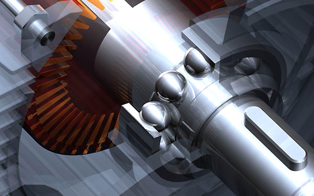Corso di Solidworks, Inventor, Solidedge: esempio di esploso motore.